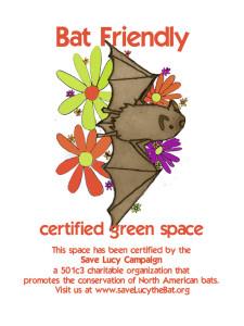 Bat friendly certification