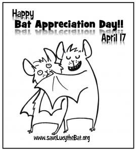 An image of hugging bats for bat appreciation day
